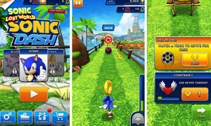 cach choi game sonic dash