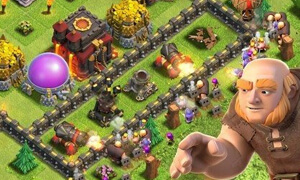 cach chong ke dich trong game clash of clans