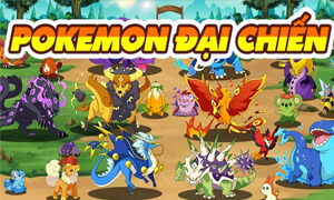 gioi thieu game pokemon dai chien