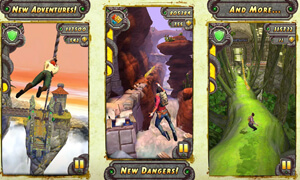 he thong nhan vat trong game temple run 2