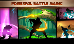 he thong skill cua shadow fight 2
