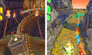 luom vang trong game temple run 2