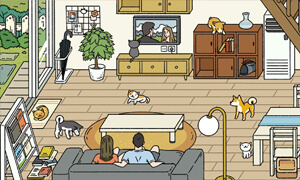 gioi thieu game adorable home