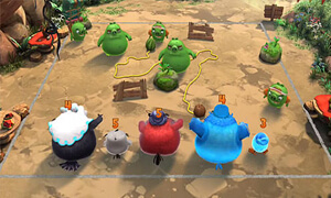 noi dung chinh cua game angry birds evolution