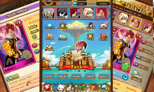 noi dung chinh cua game fairy tail mobile