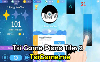 noi dung chinh game piano tiles 2