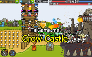 noi dung chinh cua game grow castle