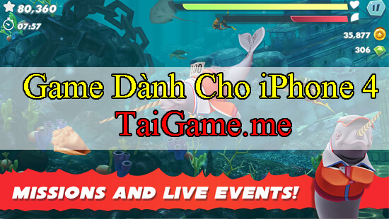 game-danh-cho-iphone-4s-hungry-shark-evolution